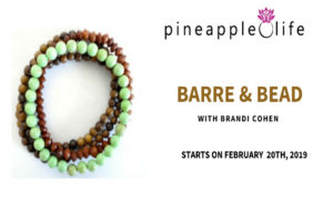 Barre and Bead pineapple life