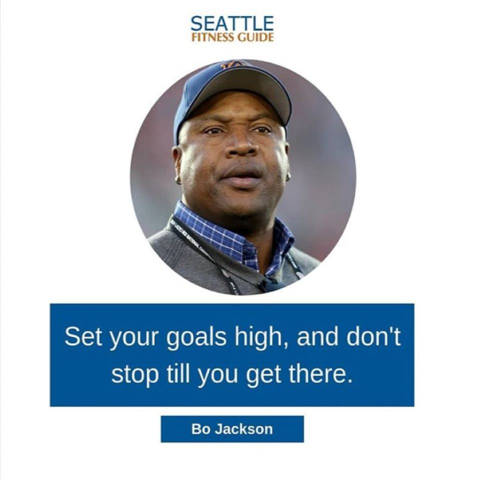 setting goals high quote